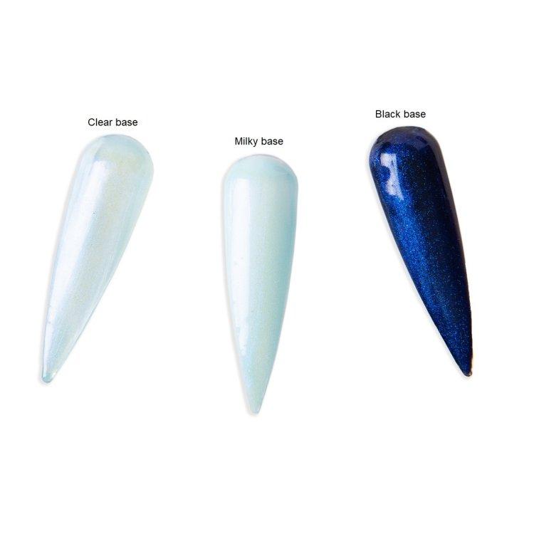 Ημιμόνιμο βερνίκι Aurora Εffect Νο 327 γαλάζιο, 10ml
