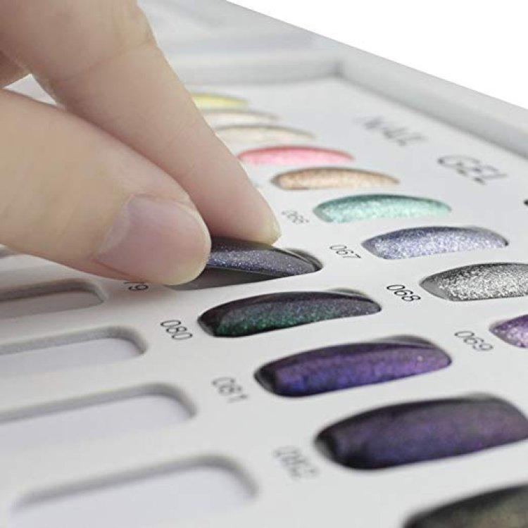 Νυχιέρα για χρωματολόγιο βιβλίο 120τεμ μπεζ
