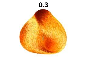 Βαφή μαλλιών Νο 0.3 χρυσαφί Special Meches, 60ml