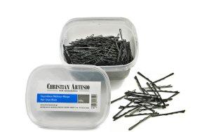 Τσιμπιδάκια μαλλιών μαύρο, 500g