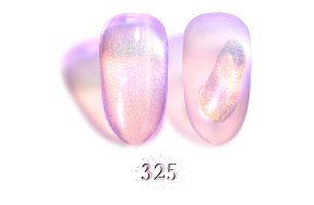 Ημιμόνιμο βερνίκι Aurora Εffect Νο 325 ροζ, 10ml