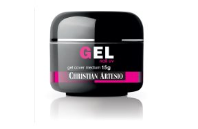 Uv Gel Cover Medium μπεζ ροζ, 15g