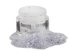 Σκόνη dipping Νο 47 ασημί glitter/παγιέτα, 28g