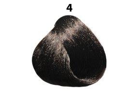 Βαφή μαλλιών Νο 4 καστανό, 100ml