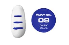 Uv Gel One Paint μπλε σκούρο E10, 5g