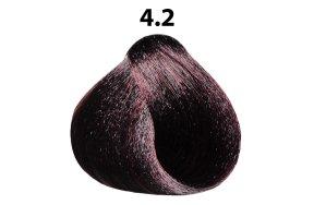 Βαφή μαλλιών Νο 4.2 καστανό ιριζέ, 100ml