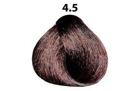 Βαφή μαλλιών Νο 4.5 καστανό μαονί, 100ml