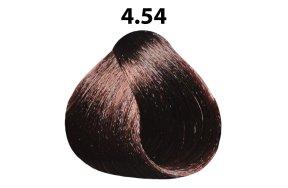 Βαφή μαλλιών Νο 4.54 καστανό μαονί χάλκινο, 100ml