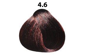 Βαφή μαλλιών Νο 4.6 καστανό κόκκινο, 100ml