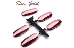 Σκόνη καθρέφτης ροζ-χρυσό, 3g