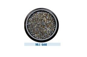 Στρας Crystal Pixie χρυσό-ασημί ιριδίζον, 2g