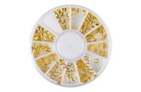 Τρουκς μεταλλικά χρυσό 100τεμ