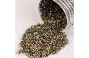 Σκόνη λαδί glitter, 3g