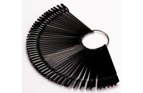 Νυχιέρα σε sticks 50τεμ μαύρο