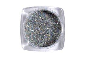 Σκόνη Holographic ασημί, 1g