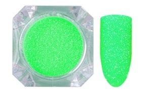 Σκόνη νέον πράσινο glitter, 2.5g