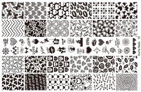 Πλακέτα σχεδίων στάμπας 14cm x 9.5cm