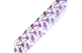 Foil νυχιών λουλούδια