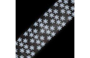 Foil νυχιών χιονονιφάδες