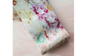 Foil νυχιών μάρμαρο/λουλούδια