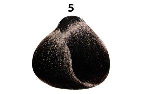 Βαφή μαλλιών Νο 5 καστανό ανοιχτό, 100ml