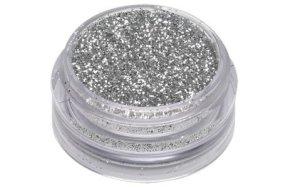 Σκόνη ασημί glitter, 1.5g