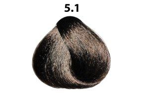 Βαφή μαλλιών Νο 5.1 καστανό ανοιχτό σαντρέ, 100ml