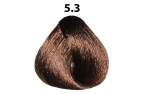 Βαφή μαλλιών Νο 5.3 καστανό ανοιχτό χρυσαφί, 100ml