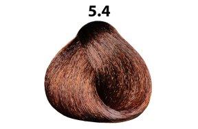 Βαφή μαλλιών Νο 5.4 καστανό ανοιχτό χάλκινο, 100ml
