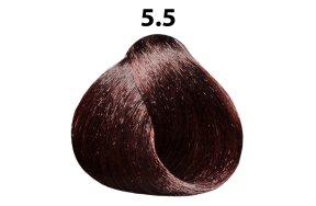 Βαφή μαλλιών Νο 5.5 καστανό ανοιχτό μαονί, 100ml