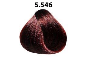 Βαφή μαλλιών Νο 5.546 καστανό ανοιχτό έντονο κόκκινο βιολέ, 100ml