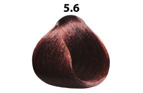 Βαφή μαλλιών Νο 5.6 καστανό ανοιχτό κόκκινο, 100ml