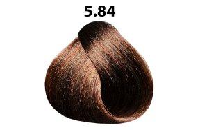 Βαφή μαλλιών Νο 5.84 καστανό ανοιχτό φουντουκί, 100ml