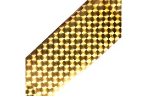 Foil νυχιών καθρέφτης χρυσό