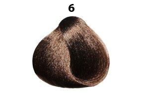 Βαφή μαλλιών Νο 6 ξανθό σκούρο, 100ml