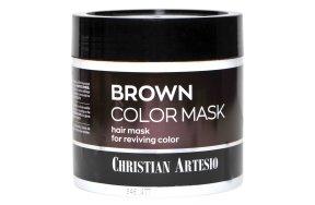 Επαγγελματική μάσκα μαλλιών καστανό, 500ml