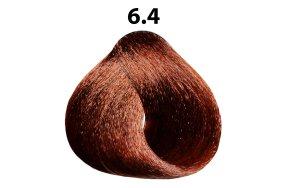 Βαφή μαλλιών Νο 6.4 ξανθό σκούρο χάλκινο, 100ml