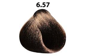 Βαφή μαλλιών Νο 6.57 ξανθό σκούρο ακαζού καφέ, 100ml