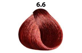 Βαφή μαλλιών Νο 6.6 ξανθό σκούρο κόκκινο, 100ml