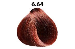 Βαφή μαλλιών Νο 6.64 ξανθό σκούρο κόκκινο χάλκινο, 100ml