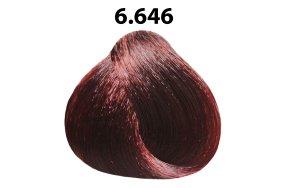Βαφή μαλλιών Νο 6.646 ξανθό σκούρο έντονο κόκκινο βιολέ, 100ml