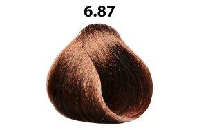 Βαφή μαλλιών Νο 6.87 σοκολατί, 100ml