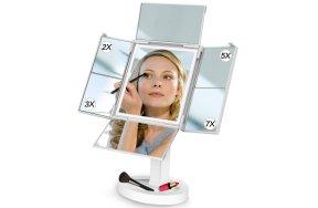 Καθρέφτης μακιγιάζ LED μεγέθυνσης με 34 φώτα