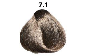 Βαφή μαλλιών Νο 7.1 ξανθό ανοιχτό σαντρέ, 100ml