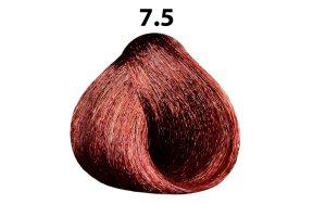 Βαφή μαλλιών Νο 7.5 ξανθό μαονί, 100ml