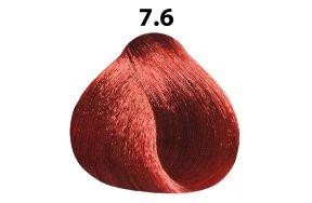 Βαφή μαλλιών Νο 7.6 ξανθό κόκκινο, 100ml