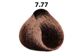 Βαφή μαλλιών Νο 7.77 ξανθό έντονο καφέ, 100ml