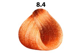 Βαφή μαλλιών Νο 8.4 ξανθό ανοιχτό χάλκινο, 100ml
