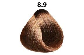 Βαφή μαλλιών Νο 8.9 ξανθό ανοιχτό της σαχάρας, 100ml