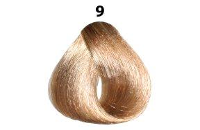 Βαφή μαλλιών Νο 9 ξανθό πολύ ανοιχτό, 100ml
